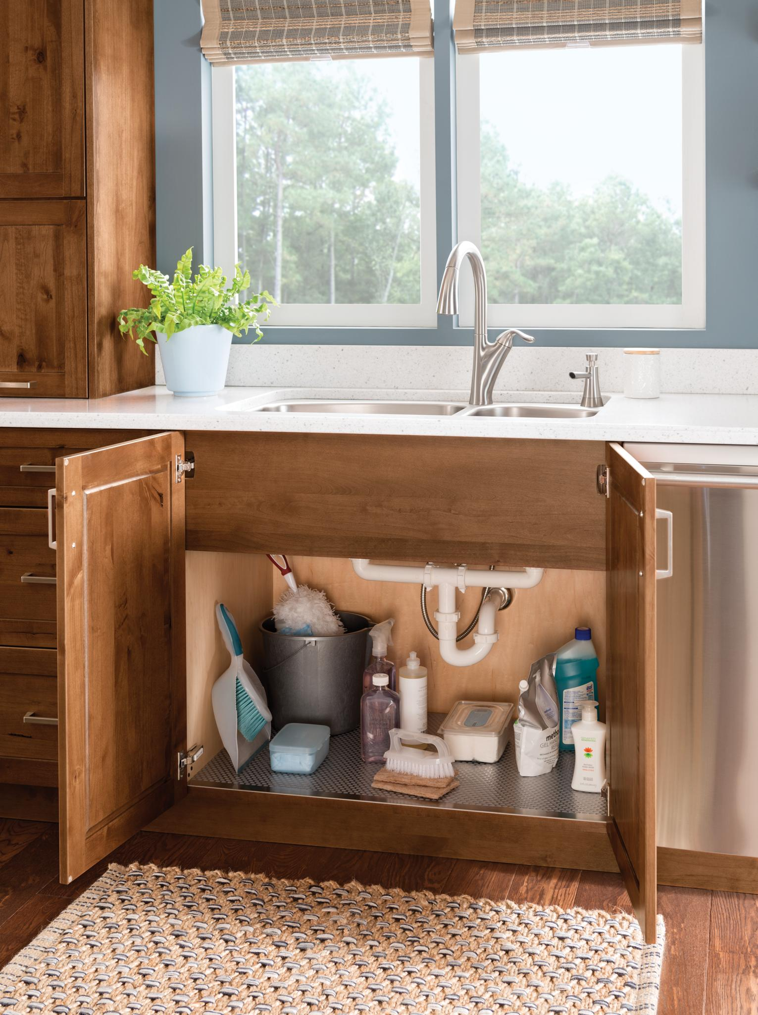 Design-Craft Cabinets | Sink Base Cabinet with Full-Height ...