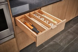 Shallow Drawer Divider