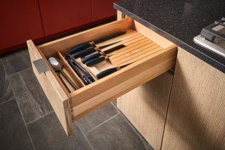 Kitchen Drawer Knife Block