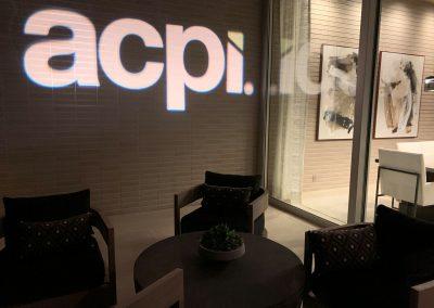 Fun with the acpi logo via a lighting gobo.